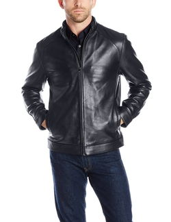 Emanuel By Emanuel Ungaro - Lambskin Leather Jacket