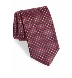 Boss - Medallion Silk Tie