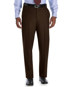 Brooks Brothers - Madison Fit Plain-Front Flannel Trousers