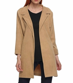Zeagoo - Turn Down Collar Coat