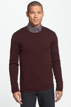 Star USA By John Varvatos  - Slim Fit Crew Neck Sweater