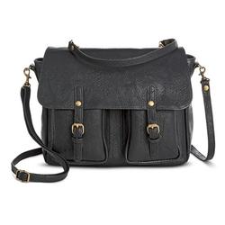 Mossimo Supply Co -  Messenger Handbag With Buckle Pocket