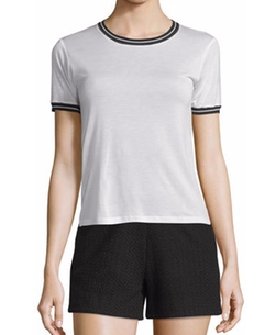 Rag & Bone - Stevie Tipped Jersey Tee
