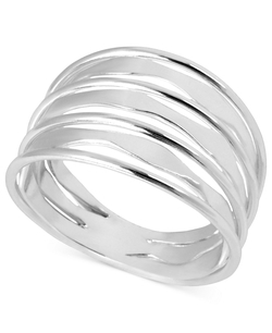Touch Of Silver - Twist Ring