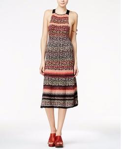 Free People - Midnight Flowers Midi Dress