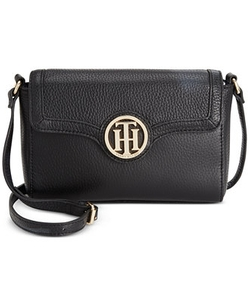 Tommy Hilfiger - Maggie Pebble Leather Crossbody Bag