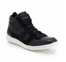 Diesel - Leather Amnesia Resolution Sneakers