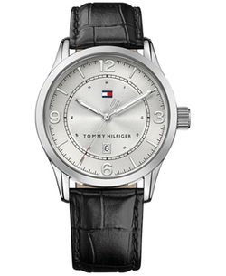 Tommy Hilfiger - Casual Sport Leather Strap Watch