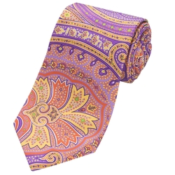 Ike Behar  - Leland Paisley Tie