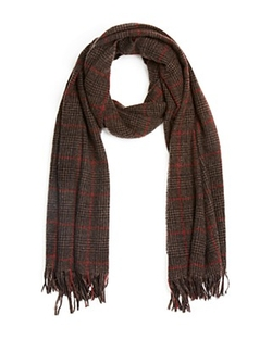 John Varvatos Star USA - Glen Plaid Scarf