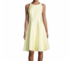 Kate Spade New York  - Sleeveless Open Bow-Back Dress
