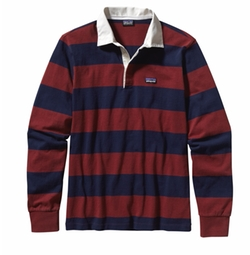 Patagonia - Rusted Iron Sender Rugby Shirt