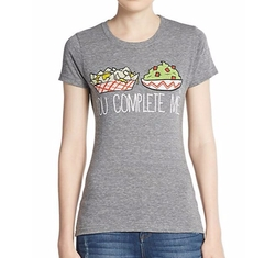 Goodie Two Sleeves  - You Complete Me Graphic Tee