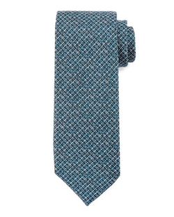 Tom Ford -  Textured Stripe Silk Tie