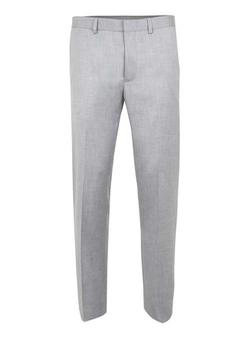 Topman - Crosshatch Skinny Fit Suit Pants