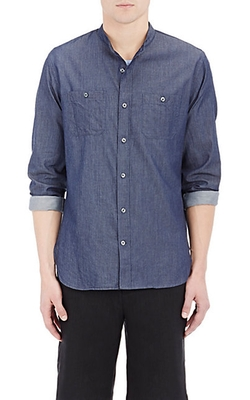 Vince - Chambray-Effect Shirt