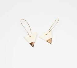 Natacha Nay - Triangle Earrings