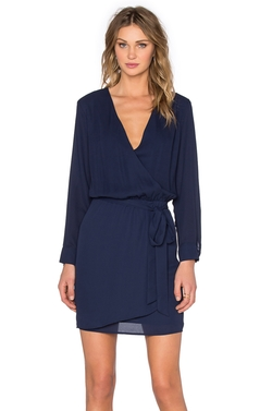 Three Eighty Two - Lana Surplice Dress
