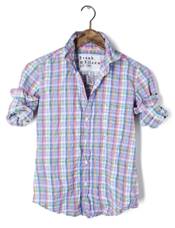 Frank & Eileen - Summer Plaid Poplin Shirt