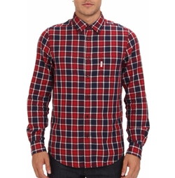 Ben Sherman  - Reversible Check Chambray Shirt