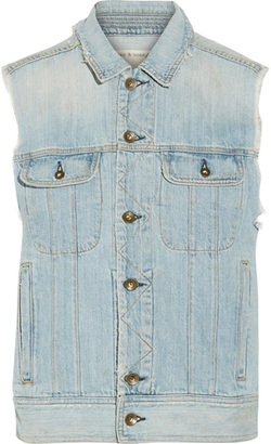Rag and Bone - Boyfriend Distressed Denim Vest