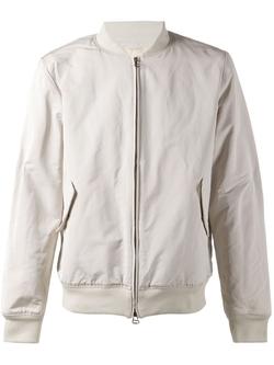 Off-White   - Printed Back Bomber Jacket