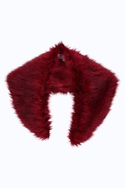 BooHoo - Holly  Faux Fur Scarf