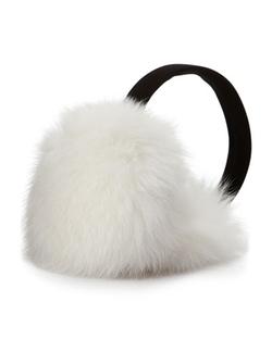 Neiman Marcus   - Fox Fur Earmuffs