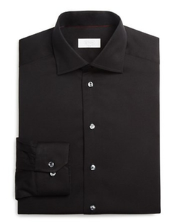 Eton of Sweden - Twill Solid Slim Fit Dress Shirt