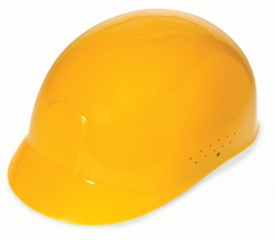 Liberty Glove & Safety - Yellow Bump Cap Style Hard Hat Helmet