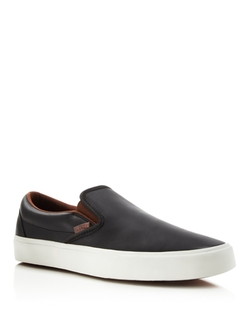 Vans - Classic Slip-On Veggie Leather Sneakers