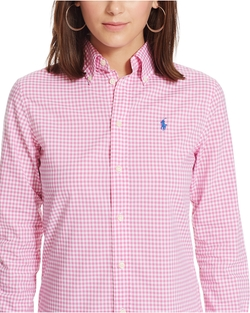 Polo Ralph Lauren - Custom-Fit Gingham Shirt