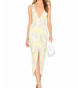 Oh My Love - Maxi Plunge Dress