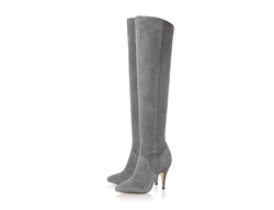 Dune London - Stretch Over The Knee Heeled Boot
