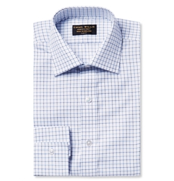 Emma Willis - Slim-Fit Tattersall-Checked Cotton Oxford Shirt