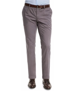 Boss Hugo Boss  - Stanino Slim-Fit Cotton Trousers