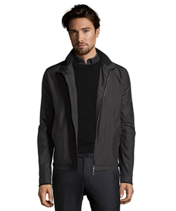 Canali - Water-Resistant Nylon Zip Front Jacket