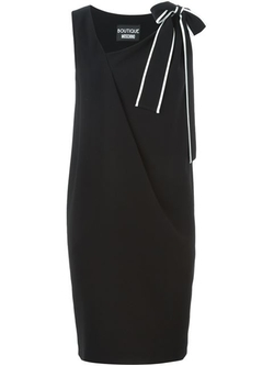 Boutique Moschino - Bow Detail Shift Dress