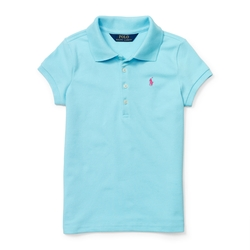Ralph Lauren - Long-Placket Cotton Polo Shirt