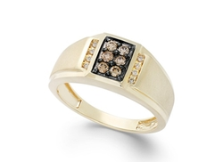 Effy   - Brown Diamond And White Diamond Accent Ring