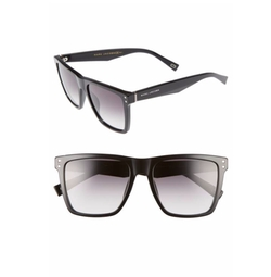 Marc Jacobs - Flat Top Gradient Square Frame Sunglasses