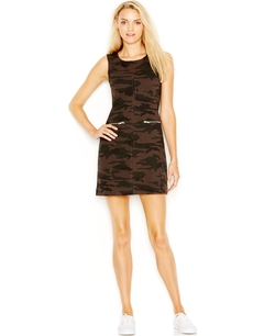 Sanctuary - Camouflage-Print Dress