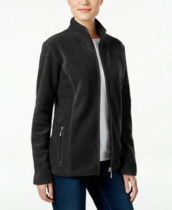 Karen Scott  - Fleece Jacket