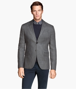 H&M - Linen-Blend Blazer