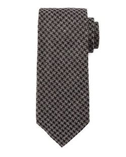 Tom Ford - Geo-Houndstooth Print Tie