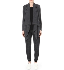 The Kooples Sport  - Waterfall Wool And Cashmere Blend Cardigan
