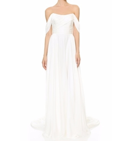 Theia - Delphine Off Shoulder Gown