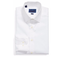 David Donahue - Slim Fit Solid Dress Shirt