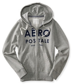 Aeropostale - Aero Trademark Logo Full-Zip Hoodie