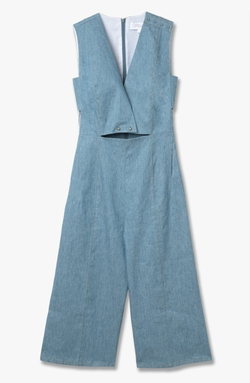 Derek Lam - Deep V-Neck Jumpsuit